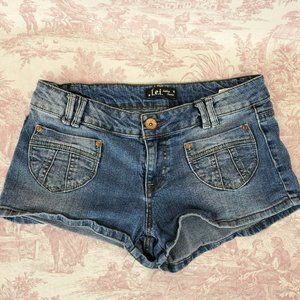 Lei Ashley Lowrise Jean Shorts Jrs 11 Bootie